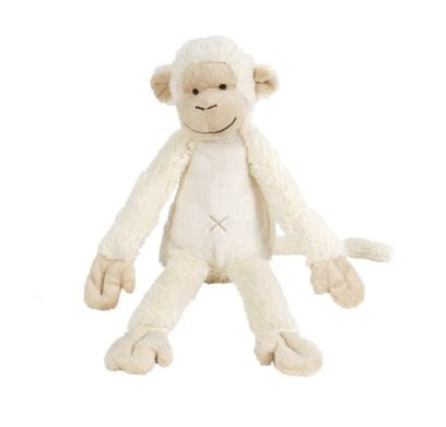 Ivory Monkey Mickey no. 2 Plush Animal by Happy Horse