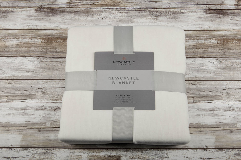 Bamboo Blanket Oversized King - Pristine White