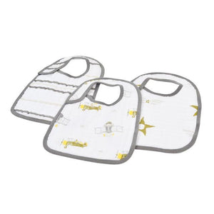 In the Sky Snap Bibs Set of 3