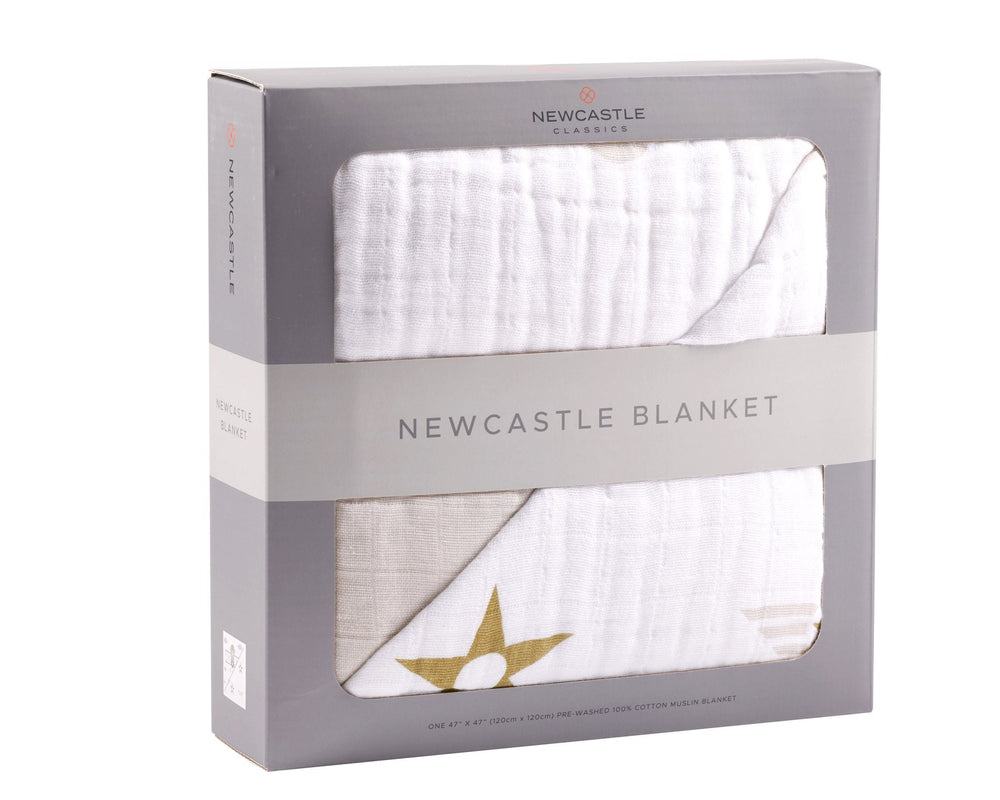 Flying Elephant Newcastle Blanket