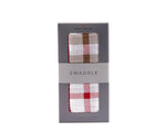 Plaid Cotton Muslin Swaddle