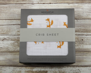 Fancy Fox Crib Sheet