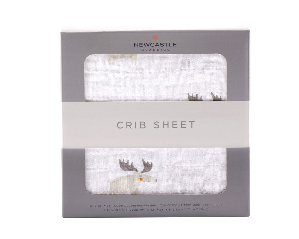 Mister Moose Crib Sheet