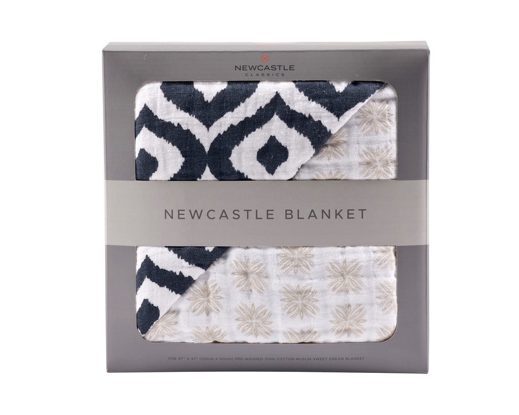 Newcastle Blanket - Moroccan & Traveler Dot