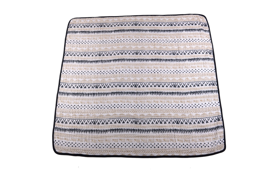 Pyramid Print & Star Anise Newcastle Blanket by Newcastle Classics -