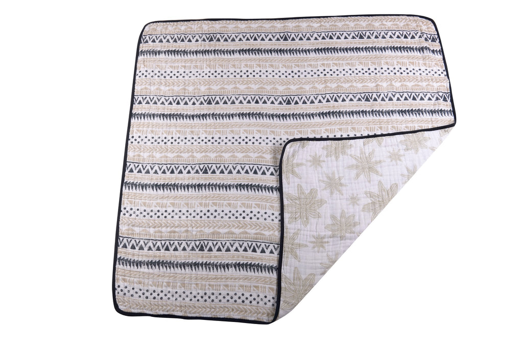 Pyramid Print & Star Anise Newcastle Blanket