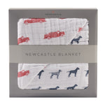 Fire Truck and Dalmatian Newcastle Blanket