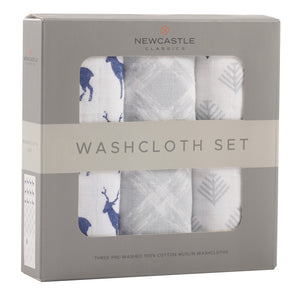 In The Wild Deer Washcloth Set