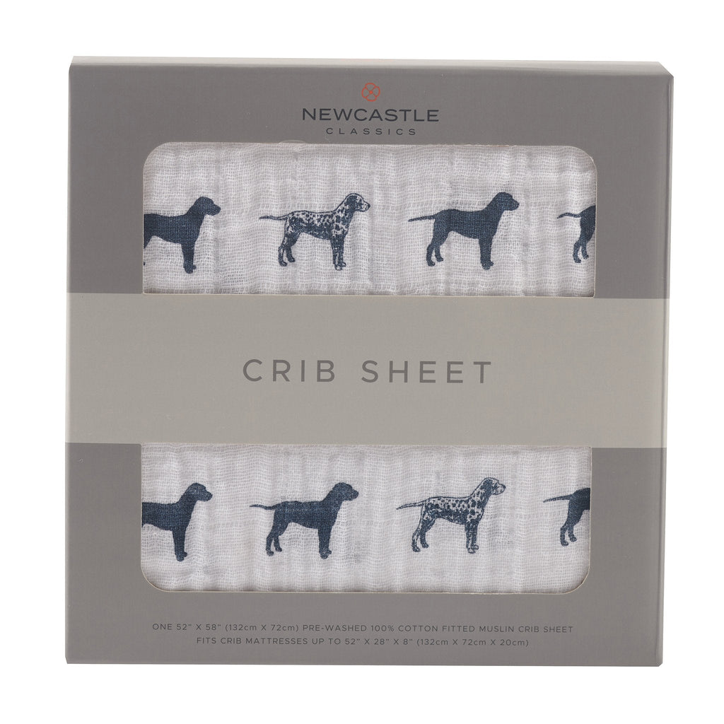 Dalmation Crib Sheet by Newcastle Classics -