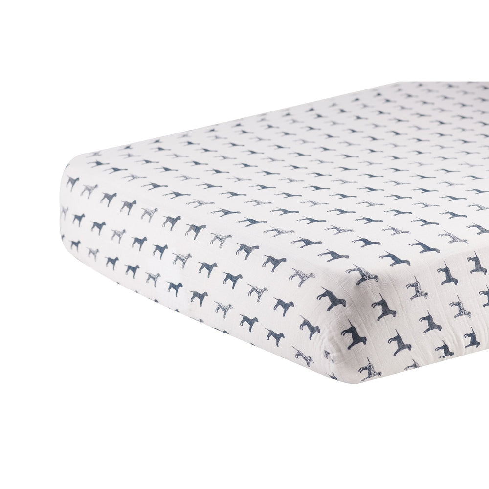Dalmation Crib Sheet