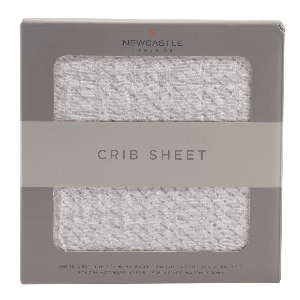 Spotted Wave Crib Sheet
