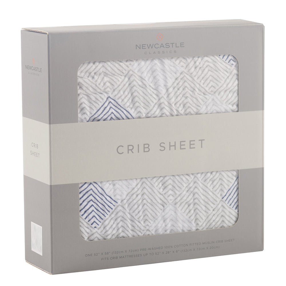 Mountain Peak Crib Sheet