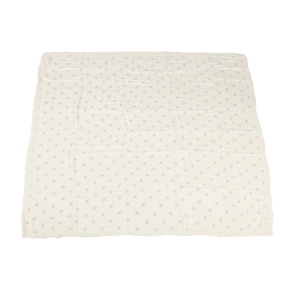 Watercolor Star and White Newcastle Blanket