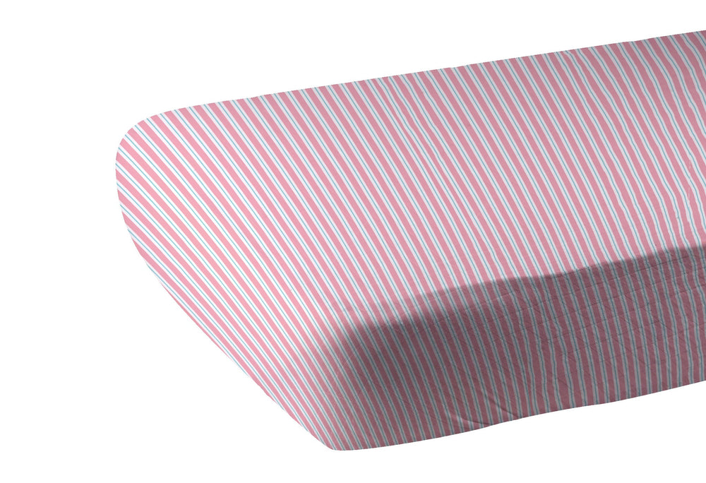 Candy Stripe Crib Sheet