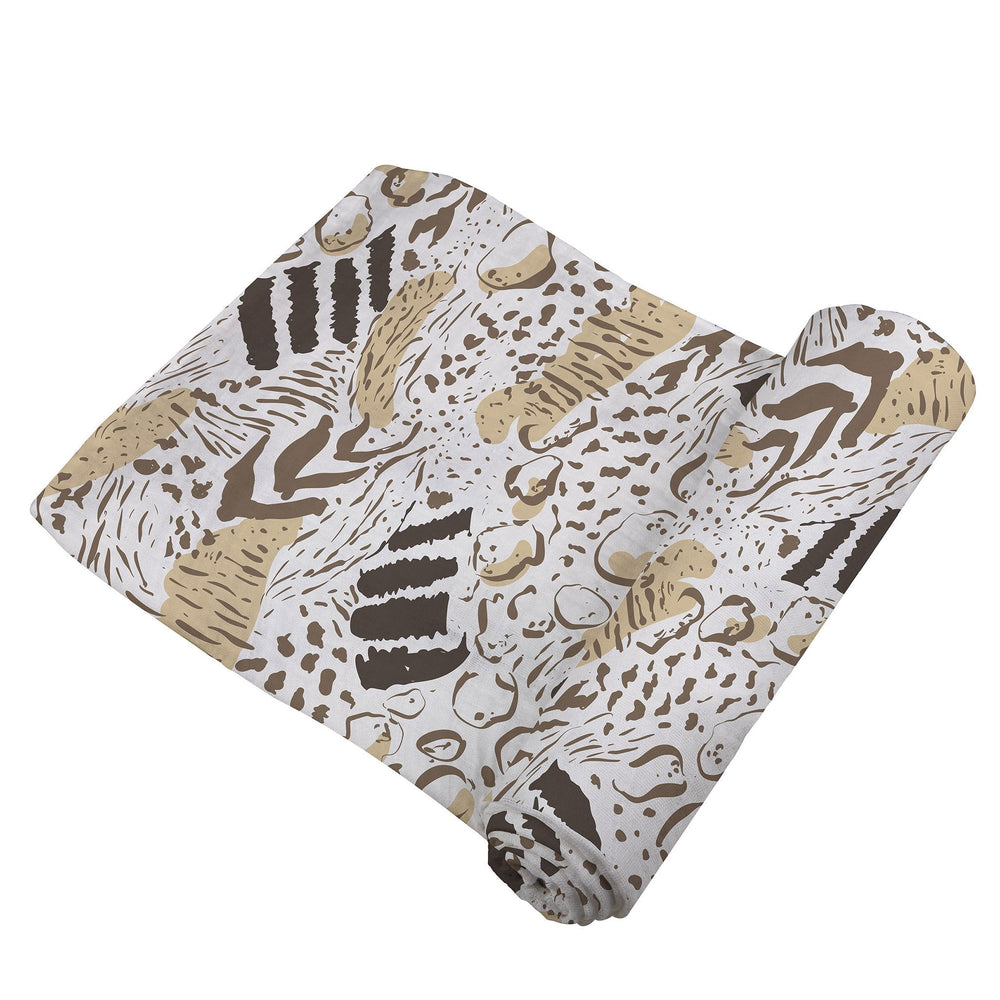 Animal Print Swaddle