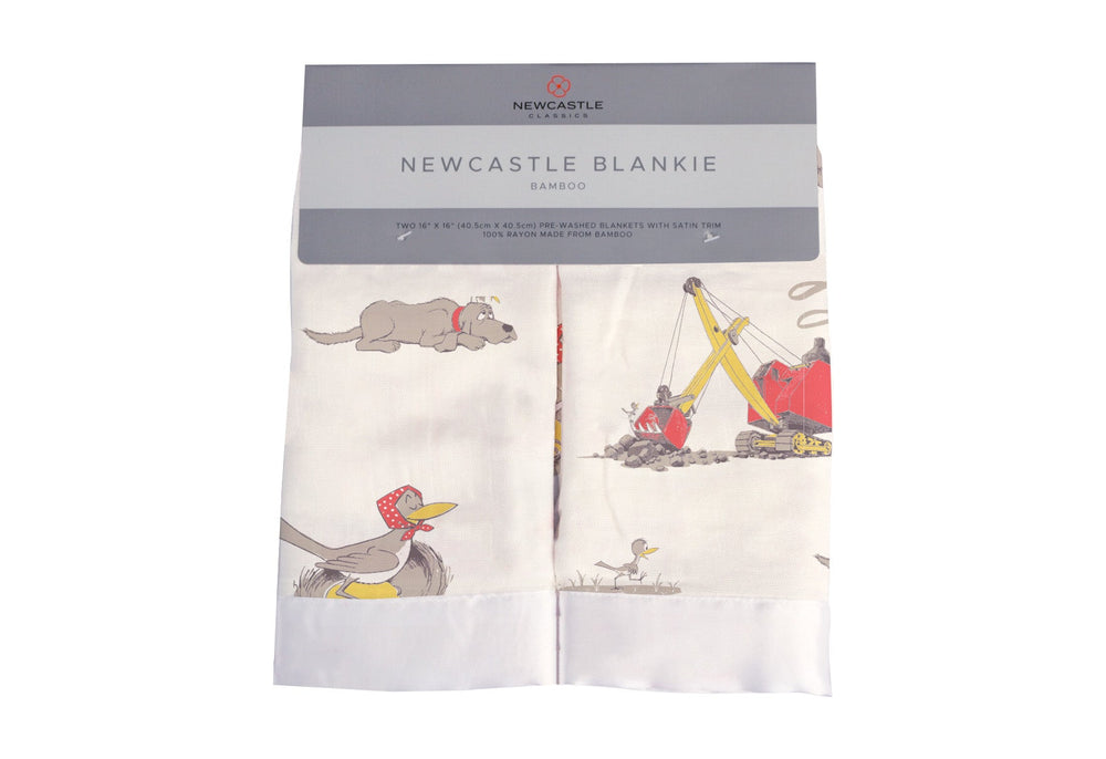 Are You My Mother? Newcastle Blankie