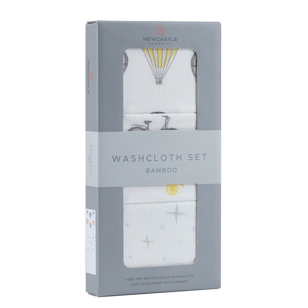 World Traveler Washcloth Set