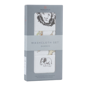 On The Savannah Washcloth Set