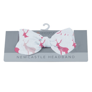 Pink Deer Newcastle Headband