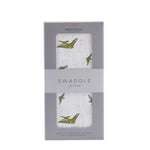 Pteranodon Cotton Muslin Swaddle