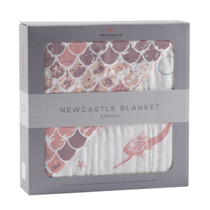 Mermaids and Scales Newcastle Blanket