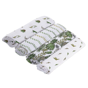Dino Days Swaddle 4 Pack