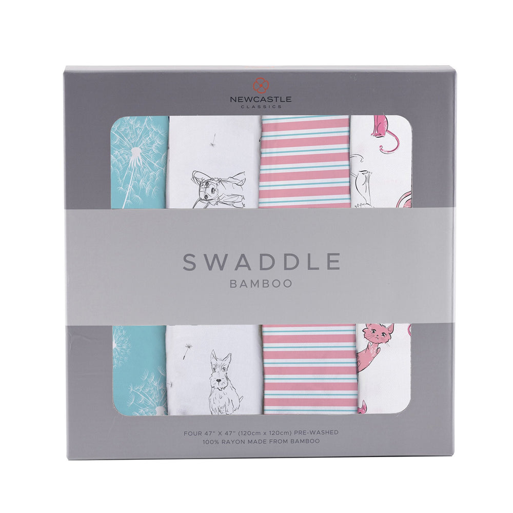 Dandelions Swaddle 4 Pack