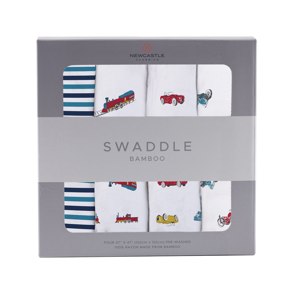 Ultimate Road Trip Swaddle 4 Pack
