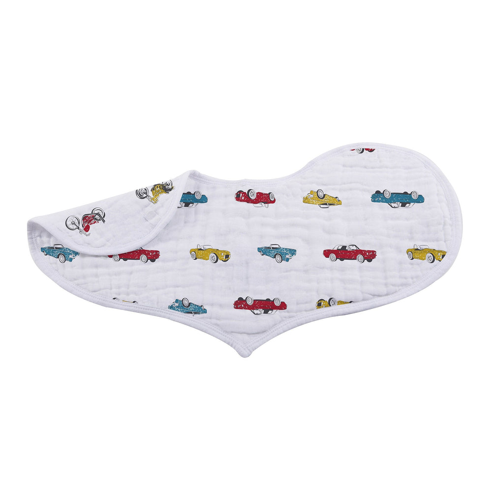 Ultimate Road Trip Heart Bibs - Set of 2