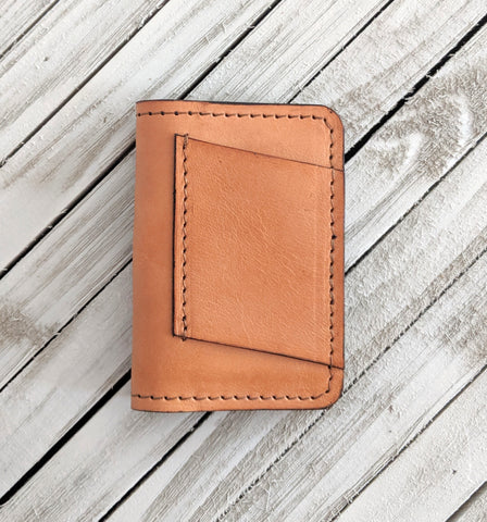 Henderson No. 4 Leather Wallet - Louisville Hide & Co.