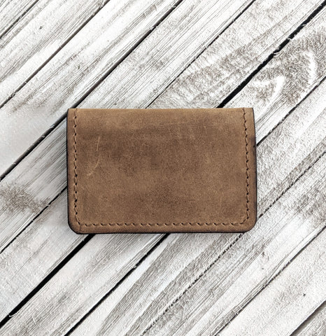 Henderson No. 1 Leather Bifold Wallet - Louisville Hide & Co.