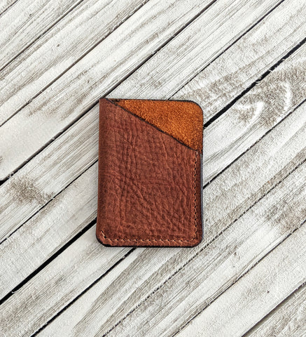 Henderson No.3 Leather Sleeve Wallet - Louisville Hide & Co.