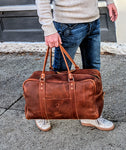 Raleigh Leather Weekender Bag - Louisville Hide & Co.