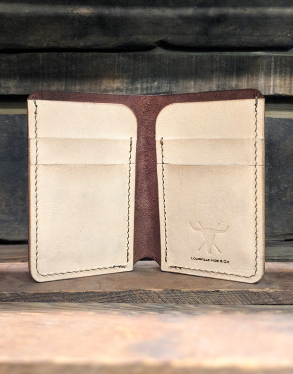 Henderson Brown two-tone Bifold Wallet
