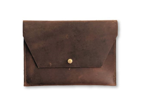 Clark Leather Portfolio Pouch - Louisville Hide & Co.