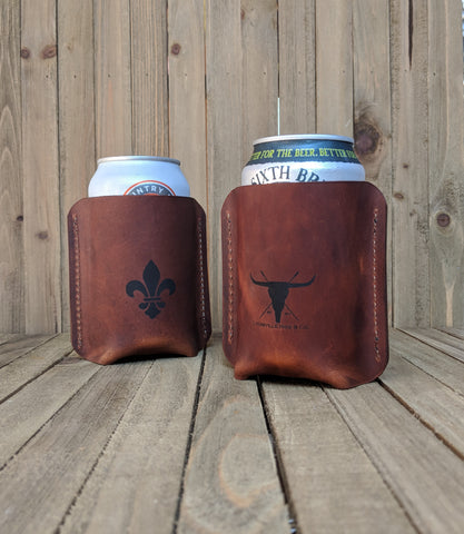 Leather Drink Sleeves - Louisville Hide & Co.