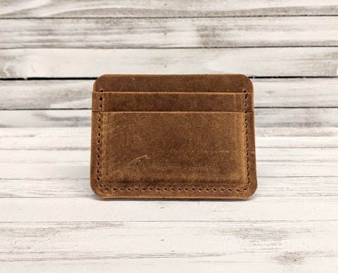 Henderson No. 2 Leather Card Wallet - Louisville Hide & Co.