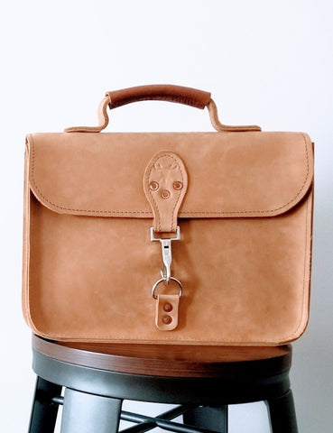 Lindbergh Attache Bag - Louisville Hide & Co.