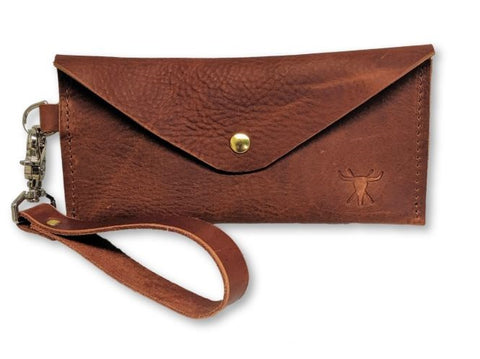 Amelia Leather Clutch - Louisville Hide & Co.