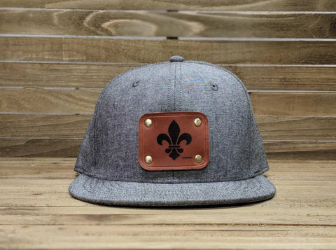 Flat Bill Explorer Hat - Louisville Hide & Co.