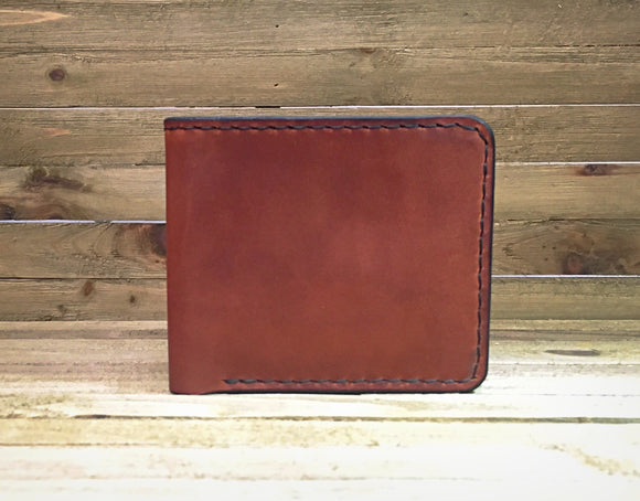 Henderson Brown & Black Billfold Wallet, leather wallet, mens wallet, mens gift