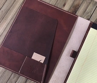 Clark Leather Padfolio - Louisville Hide & Co.