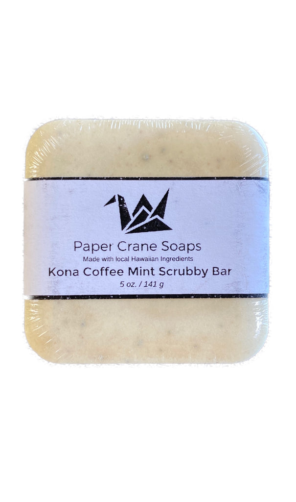 Kona Coffee Mint Scrub Bar