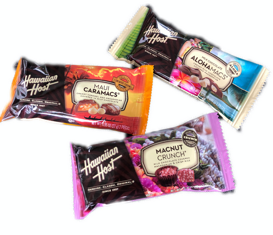 Hawaiian Host Chocolates - Two-Piece Pack