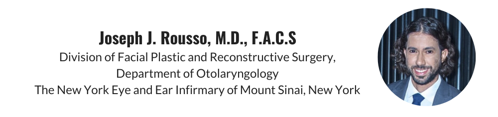 Joseph J. Rousso, MD, FACS review of Dr. Menick's book Aesthetic Nasal Reconstruction Principles and Practice