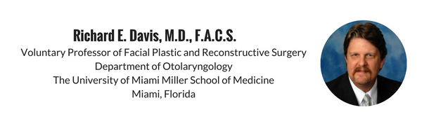 Dr. Richard E. Davis review of Aesthetic Nasal Reconstruction by Dr. Frederick Menick