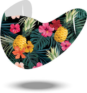 Seamless Tropical Reusable Soft Style Mask