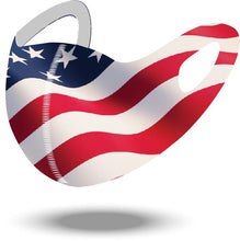 American Flag Reusable Soft Style Mask