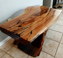 Crackled Elm Coffee Table Top (SOLD!)