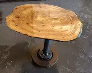The Wedge End Table